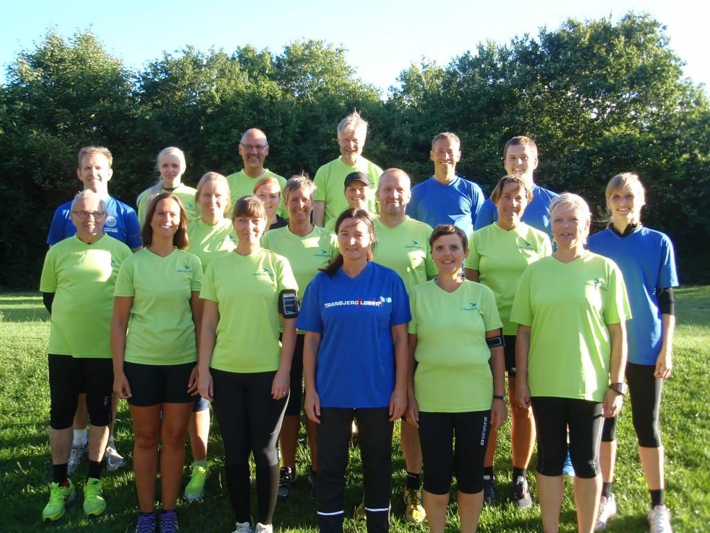 Billede af træner teamet