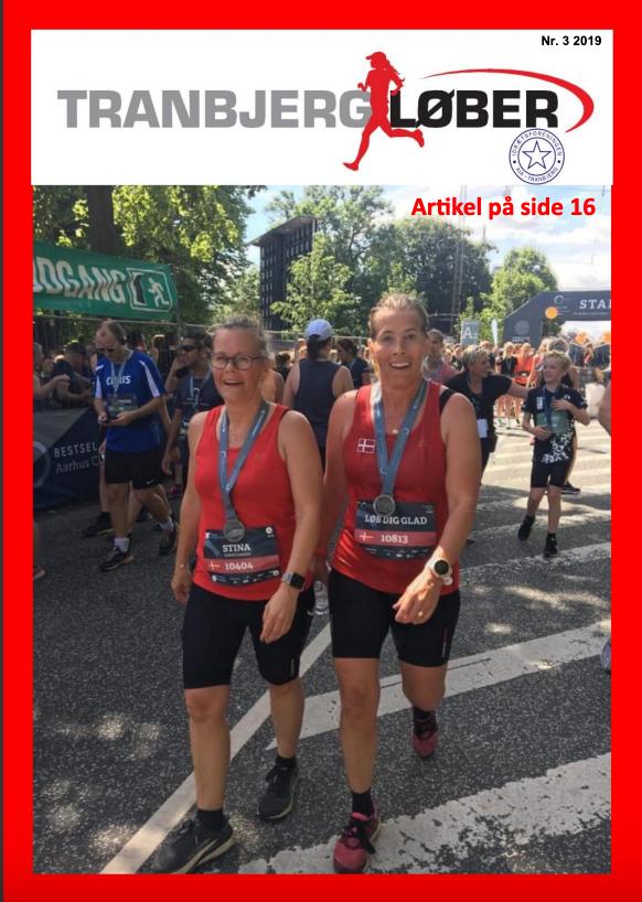 Forsiden af klubbladet - sommer 2019