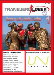 Forside af klubblad nr 4 2019